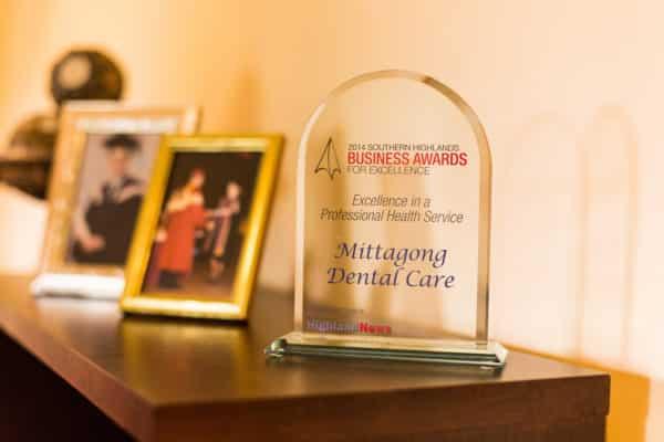 Mittagong Award — Dental Care in Mittagong, NSW